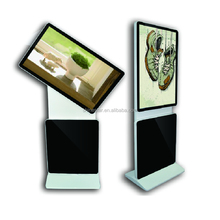 "32"" Inch ipad style/ stright corner floor standing wifi led advertising screen"
