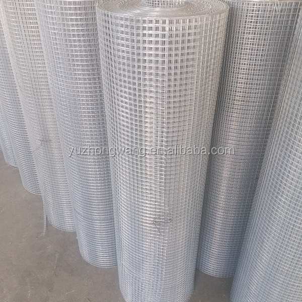 Galvanized welded wire mesh panels for making chicken cage (Anping factory)