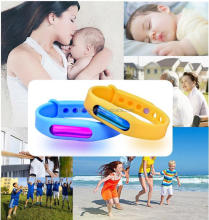outdoor natural baby children citronella anti mosquito bracelet