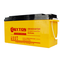 RYTON mounting 96v system storage valve regulated lead acid 12v solar external battery