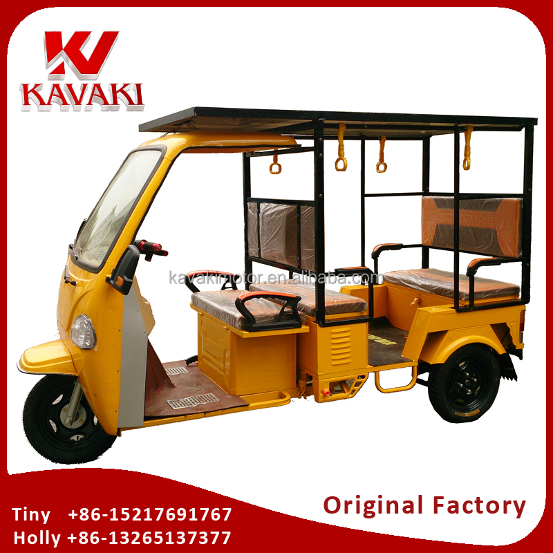 China Supplier E Rickshaw Indian 4 Seats Electric Rickshaw For Passenger