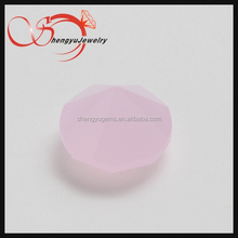 round zirconia diamond opaque light pink in promotional