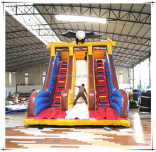 Popular Dubai plastic water slide for home, high quality fantasy inflatable slide, inflatable slide games