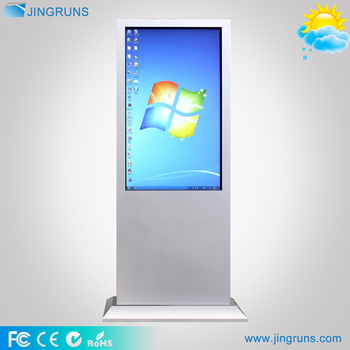 "43"" 50"" 55"" full hd 1500nits outdoor touch screen kiosk / outdoor digital signage"