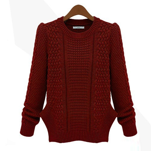 get quotations 2015 warm winter christmas long sleeve o neck plus size ladies knit sweaters women sweaters