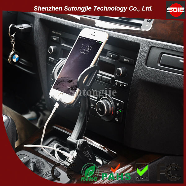 Universal ABS and silicone material Car Holder With Charging