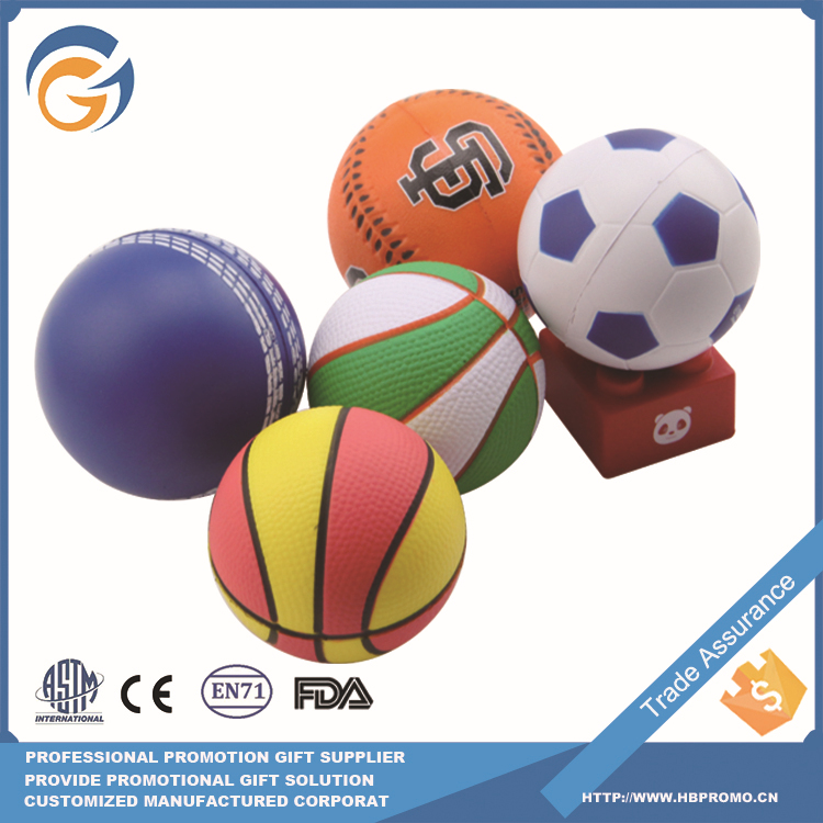 Sport Style Promotion Pu Anti Stress Ball