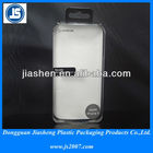 custom transparent iphone5 plastic packaging boxes for sale