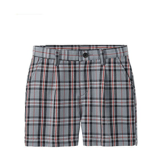 Hihg Quality Boy's Plaid School Uniform Summer Casual Shorts From China Supplier