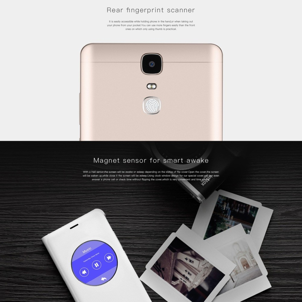 "New Arrival Doogee Y6 Max 6.5"" Big Screen Android 6.0 3GB/32GB 4300mAh 5.0/13.0MP 4G CellPhone"