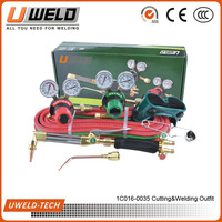 Oxygen/Acetylene Torch Kits Victor Type Gas Welding Cutting Kit Oxy Acetylene Welding System
