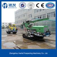 2015 best choice ! crawler high air pressure HF140Y crawler type smart down the hole hammer drill rig