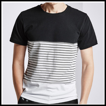 New black white striped t shirt for 2016