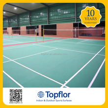 Portable Athletic Sports Flooring Used for Indoor Badminton PVC Court