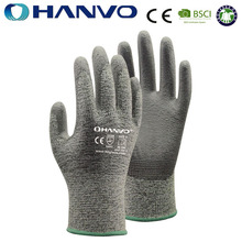 HANVO Kevlar With PU Safety Gloves