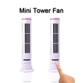 New Good Plastic Electric Mini Super USB Tower Fan Without Leaf