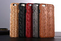 Unique Design Vintage Bamboo Baskets Weave Echo Friendly PP Cases for iPhone 6 6S 4.7 Slim Fit Fundas Capa Phone Cover 5 Colors