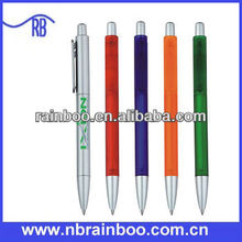 Hot selling Cheap custom plastic pen for promotion