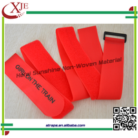 Garment,Shoes,Bags Use and 100% Nylon Material Nylon Hook and Loop Strap With Custom Logo