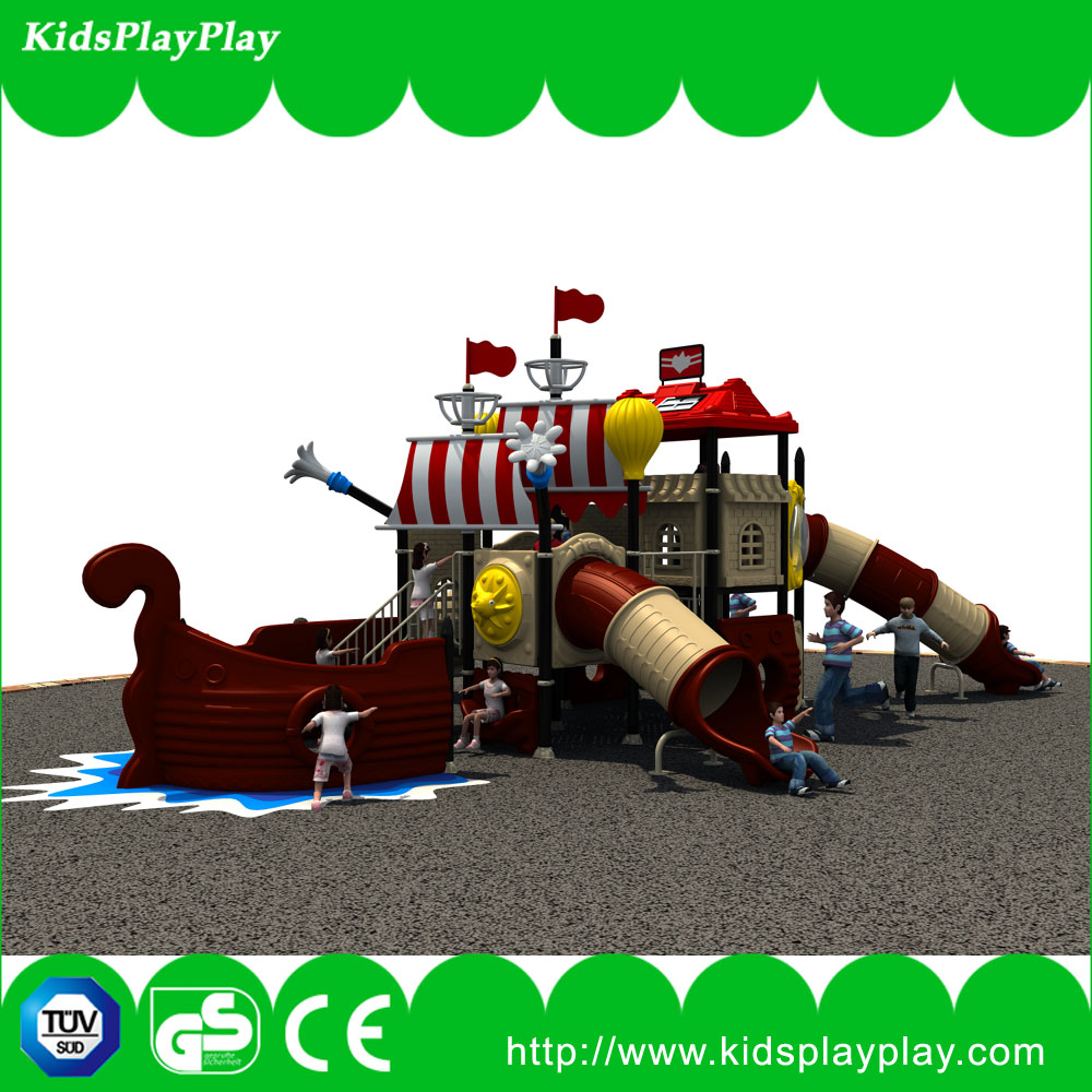 Pirate ship used outdoor kids used playground equipment