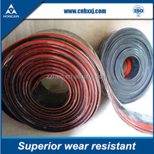 Loading point rubber skirtboard for mining industrial