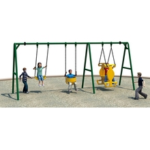 Good Quality Outdoor Playground outdoor Iron Swing
