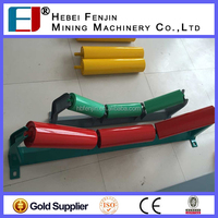 Electrostatic Spraying Painted Belting Conveyor Steel Transfer Roller For Sale