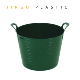Large Flexi Flexible Plastic Tub Tubs Bucket For Gardening Building Laundry