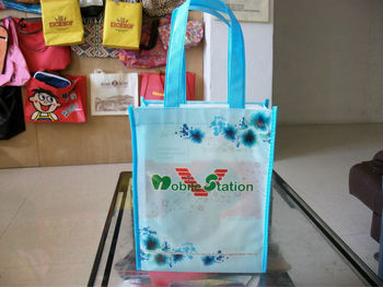 OEM Production recyclable branded advertising bags