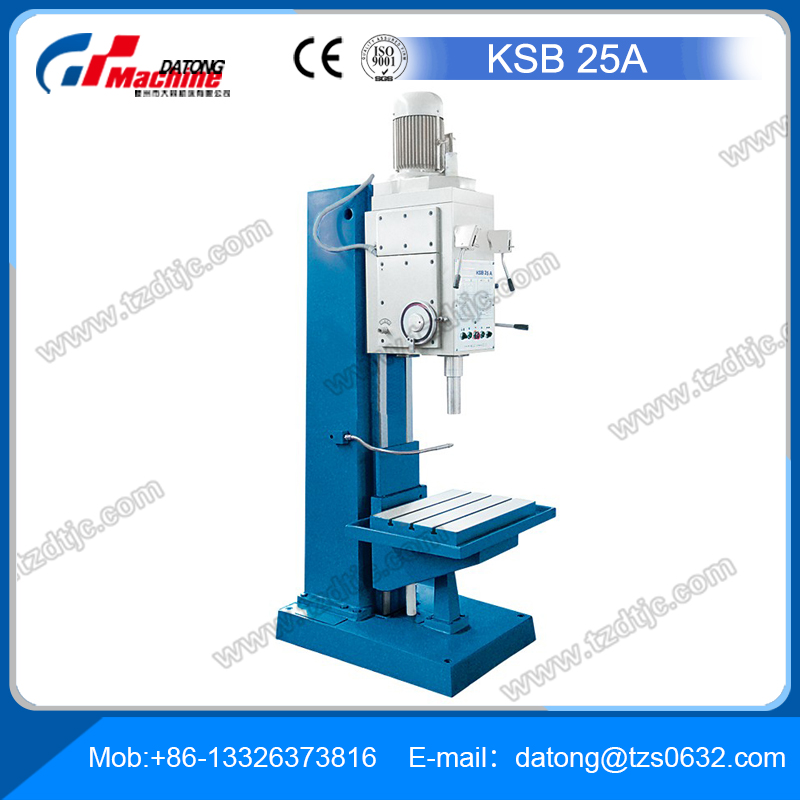 Box-Column Drill Press - KSB 25ASuperior Rigidity for Demanding Drilling, Reaming and Thread-Cutting Tasks