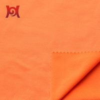 poly- spandex brushed fabric for garment