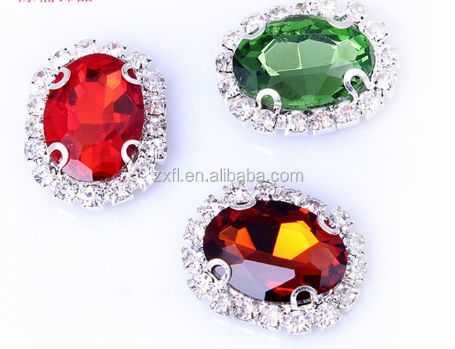 Crystal Rhinestone/Glass rhinestones sew on claw for shoes/hat/ garment decoration