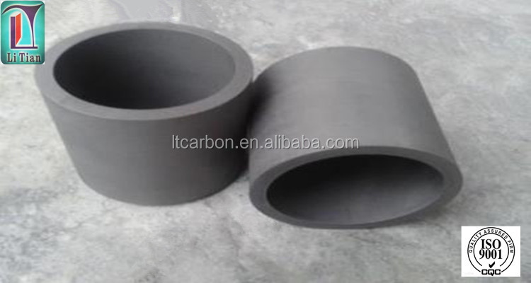 small factory for sale graphite sillicon carbide crucible