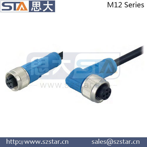 nmea 2000 m12 connector 5 pin devicenet PVC PUR cable
