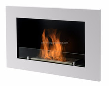 on sale wall decorative fireplace with bio ethanol fuel