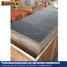 fireproof building construction materials aluminum honeycomb core used in clean board and circuit radiator