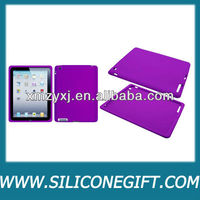 Purple silicone laptop/tablet PC protective cover/skin/case