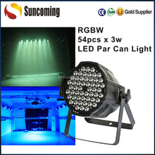 Professional Outdoor Lighting, 54x3w Par Led RGBW Waterproof Wash Lights