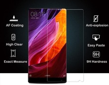High Quality Competitive Price 2.5D edge High Transparent tempered glass screen protector for Xiaomi Mix