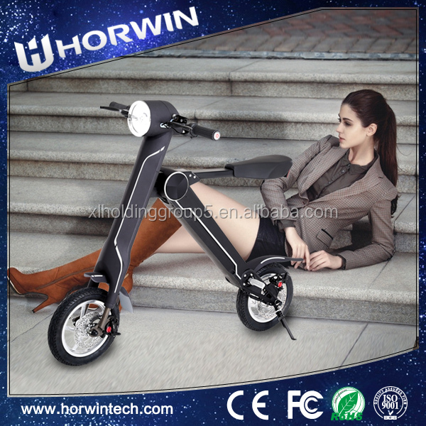New type 350W Electric Folding E-Mini handicapped Bike from Horwin