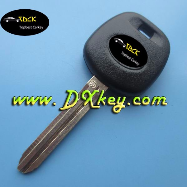 Topbest key fob cover for toyota copy key Toy43 toyota g chip key with logo