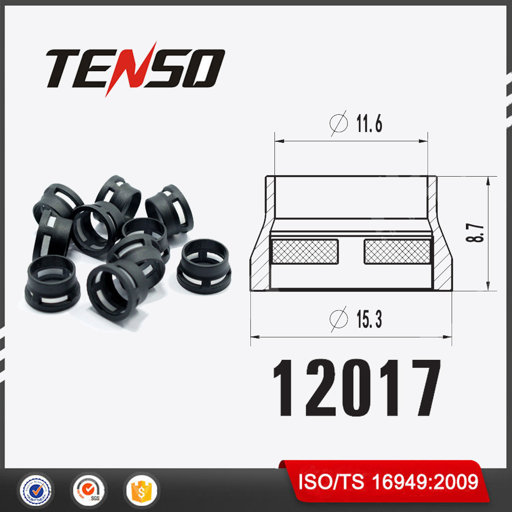Tenso Chrysler Eagle Side Feed MPI Injection Kits GB 1-130 Fuel Injector Filter Size 15.3*11.6*8.7