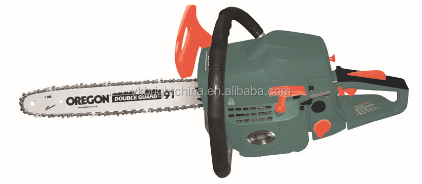 Best selling gasoline 2-stroke chainsaw 5800 with electric start