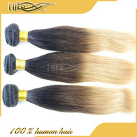 100% Human Indian Straight Wave Remy 3 Tone Ombre New Man Hair Pieces