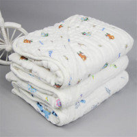 six layers hooded muslin baby blanket