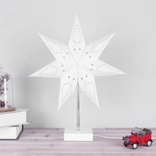 Factory Supplier starlike paper decorative cordless table lamp crystal chandelier