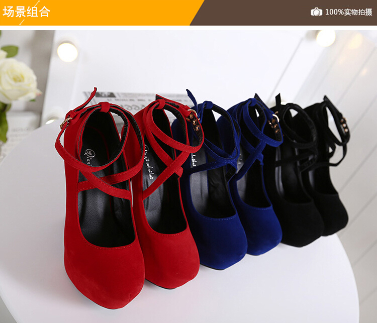 hot fashion 13cm lady waterproof woman latest high heel shoes