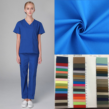 tc 21*21 108*58 antimicrobial twill dark blue doctor uniform medical dyed fabric