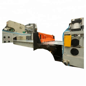 High Speed Steel Plate Cutting Machine For Steel Drum Making