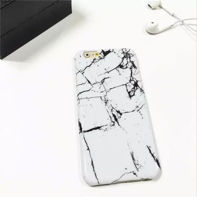 For iphone 6 marble hard cases back covers sublimation 3d phone case